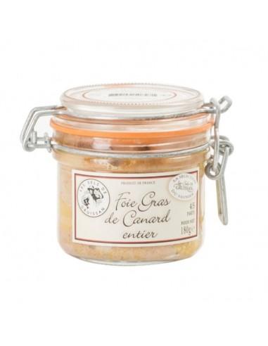 Foie gras de canard entier - 180g