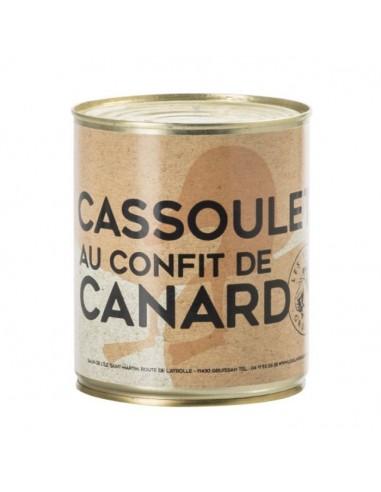 Cassoulet au confit de canard - 840g