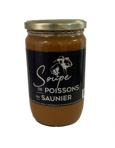 Soupe de poisson du Saunier - 630g