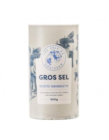 Gros sel Farigoulette - Tube carton 500g