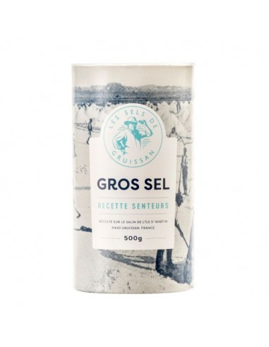 Gros sel Senteurs - Tube carton 500g
